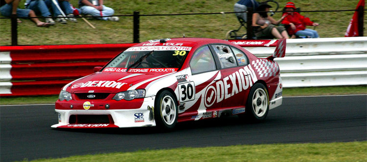 The Dexion V8 supercar built by race car builder Centreline Suspension