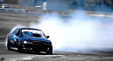 Drift car setup by Centreline Suspension